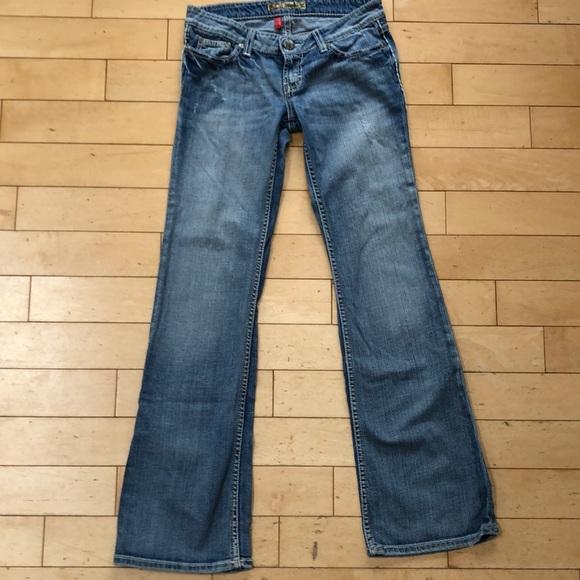 BKE Stella Bootcut Jeans size 26 x 33 1/2